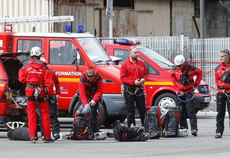 Пожар близ резиденции премьера в Париже