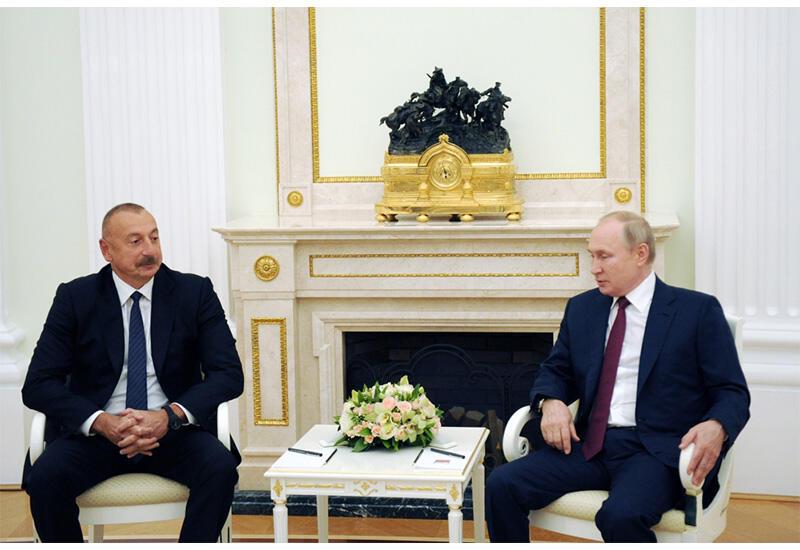 Президент Ильхам Алиев: По транспортному коридору Север-Юг было транспортировано грузов на 20% больше, чем в прошлом году