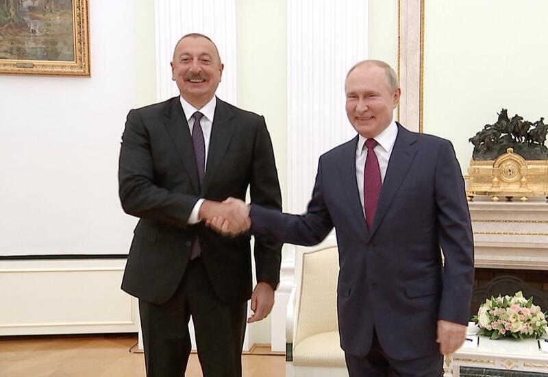 Putin Prezident İlham Əliyevə təşəkkür etdi