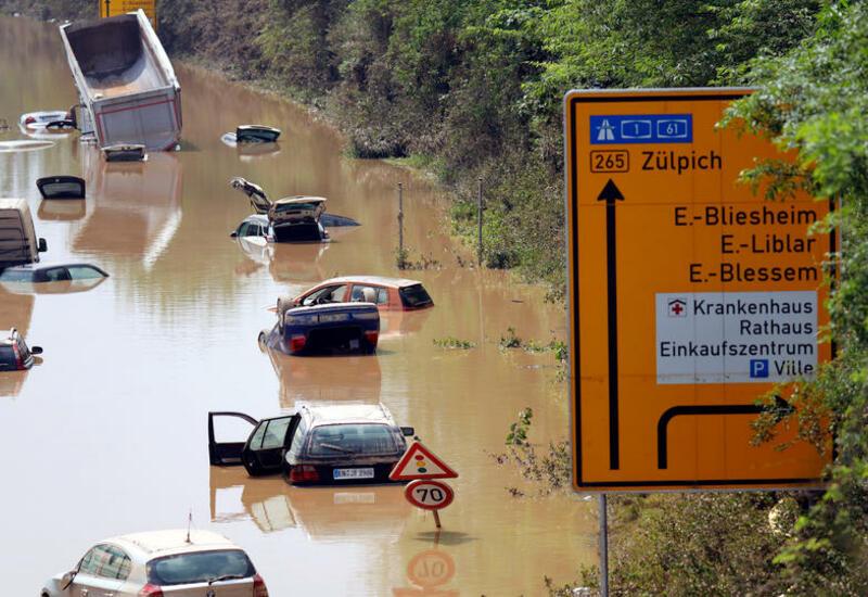 Ущерб от потопа в Германии оценивается в миллиарды евро