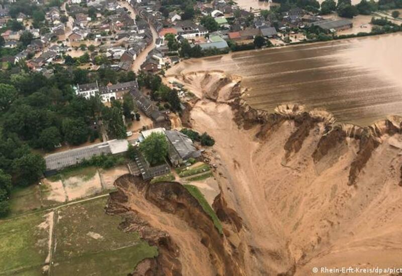 Жители Германии опасаются нового удара стихии после потопа