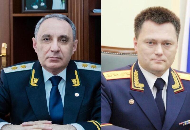 Azərbaycan və Rusiyanın Baş prokurorları arasında telefon danışığı olub