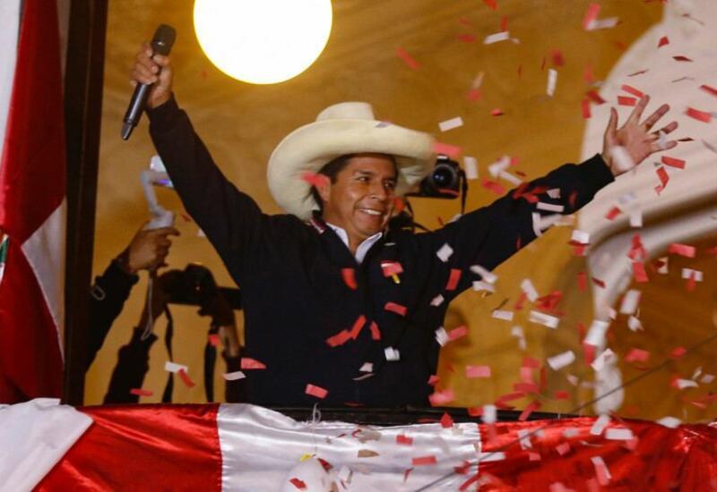 Избирком Перу объявил Педро Кастильо победителем президентских выборов