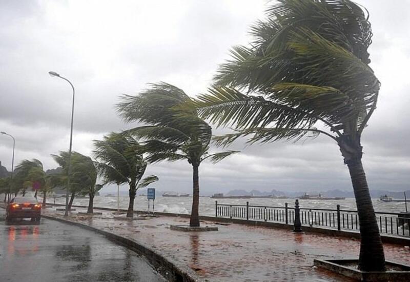 """На Южный Китай обрушился тайфун """"Чемпака"""""""