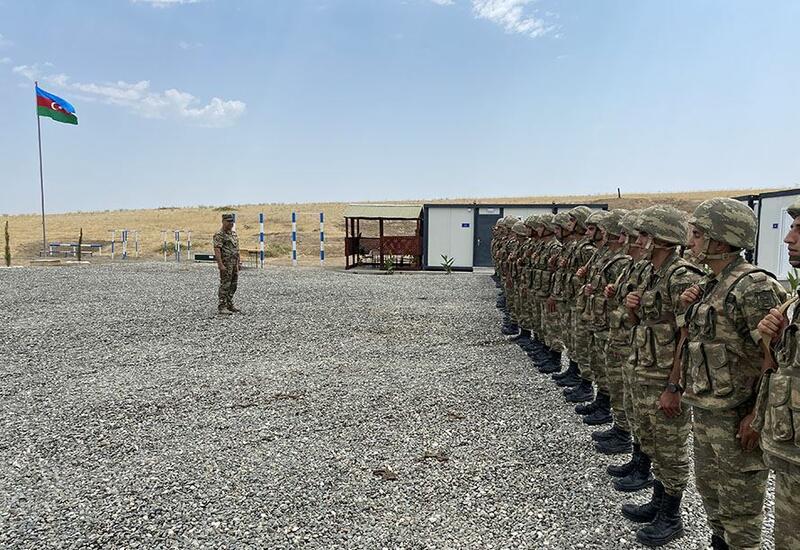В Ходжавендском районе открылись две новые воинские части