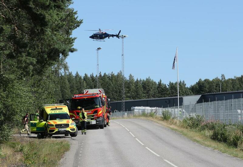 В Швеции заключенные захватили заложников, потребовали вертолет и 20 кебабов