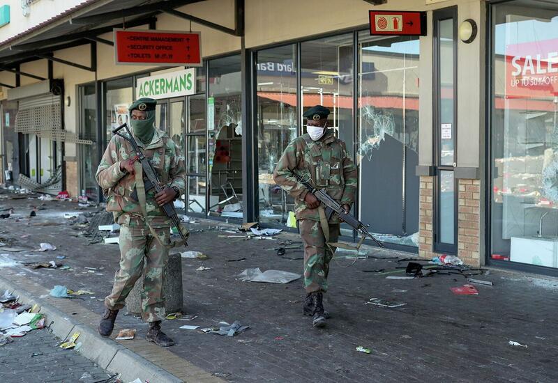 Число жертв беспорядков в ЮАР выросло до 276