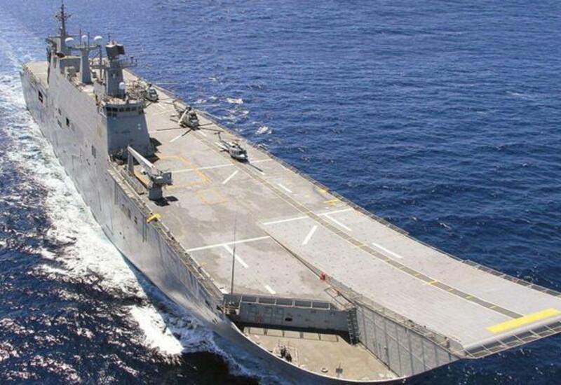 Новый корабль ВМС Турции Anadolu оснастят двумя отечественными беспилотниками