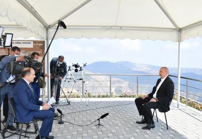 Президент Ильхам Алиев: То, что Шарль Мишель не употребил слов «статус», «Нагорный Карабах», конечно, было очень мудрым шагом