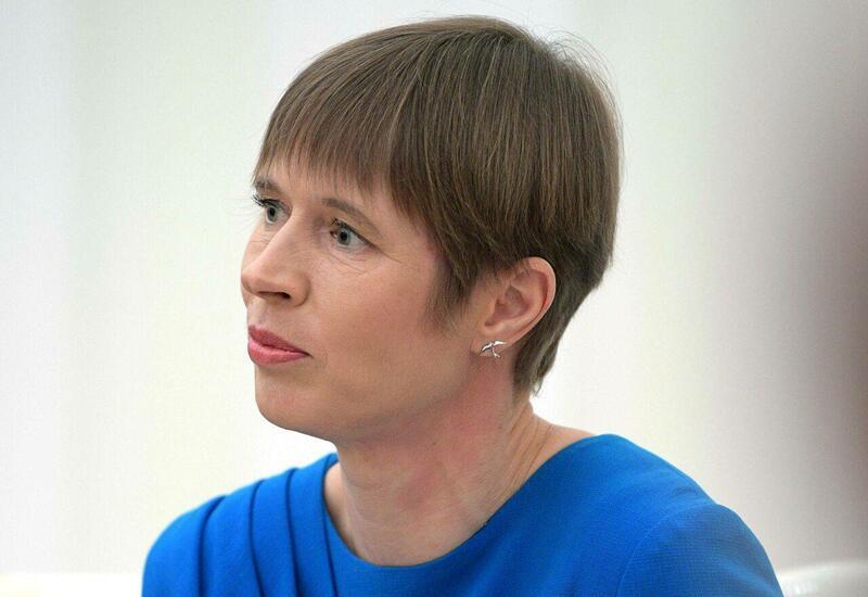 Паром с президентом Эстонии протаранил причал порта