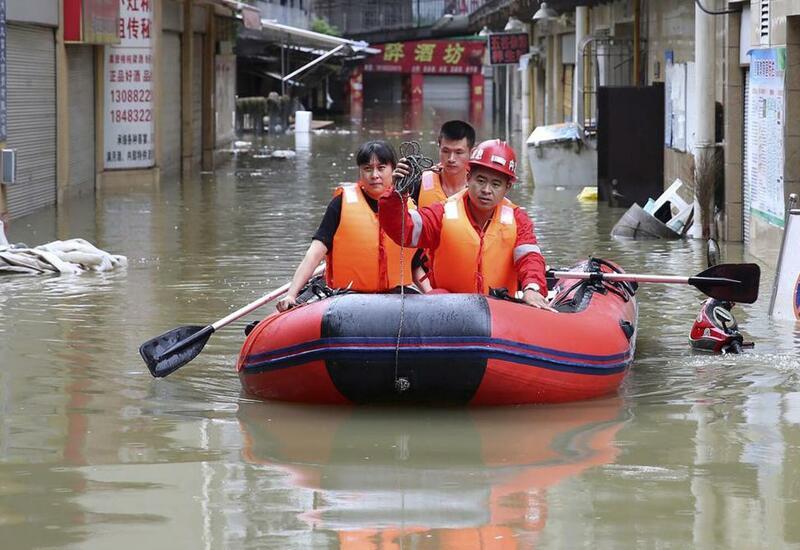 Китай уходит под воду