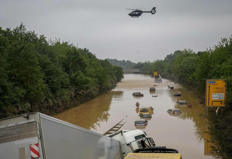 Ущерб от наводнения в Бельгии превышает €10 млрд