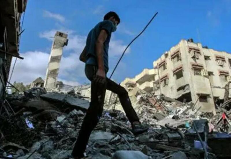 Мощный взрыв прогремел в Газе