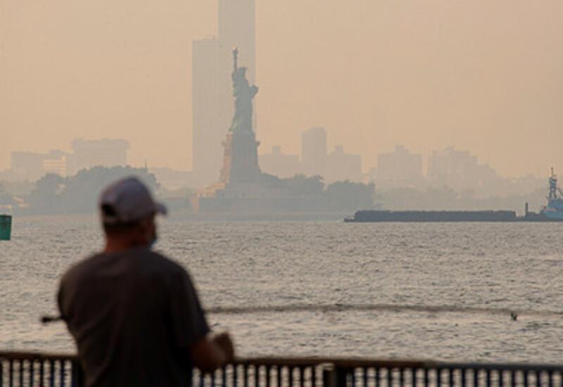 Нью-Йорк стал одним из худших городов по качеству воздуха из-за пожаров