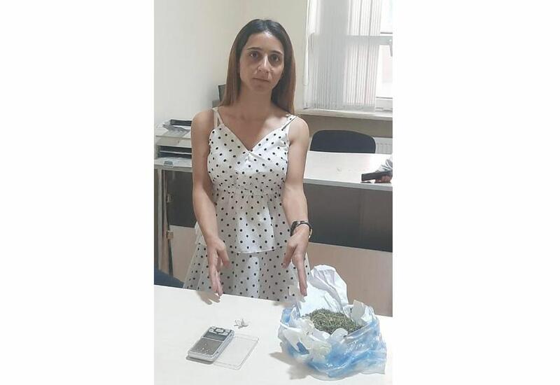 В Баку задержана женщина, подозреваемая в наркоторговле