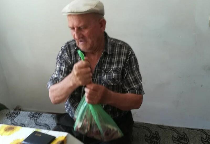 Deputat Sevil Mikayılovanın təşəbbüsü ilə Xudatda Qurban bayramı sovqatı paylanılıb - FOTO