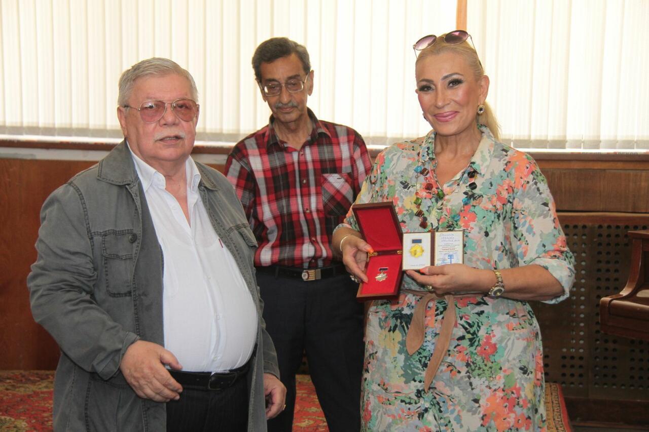 Сотрудники Trend.az и Day.Аz награждены Союзом театральных деятелей Азербайджана