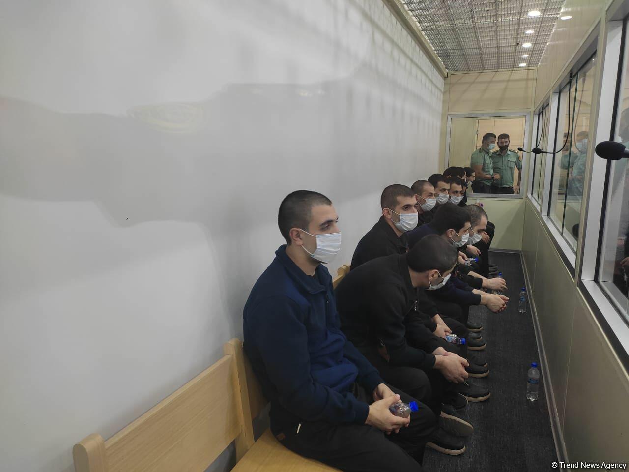 В Баку вынесен приговор 13 армянским террористам