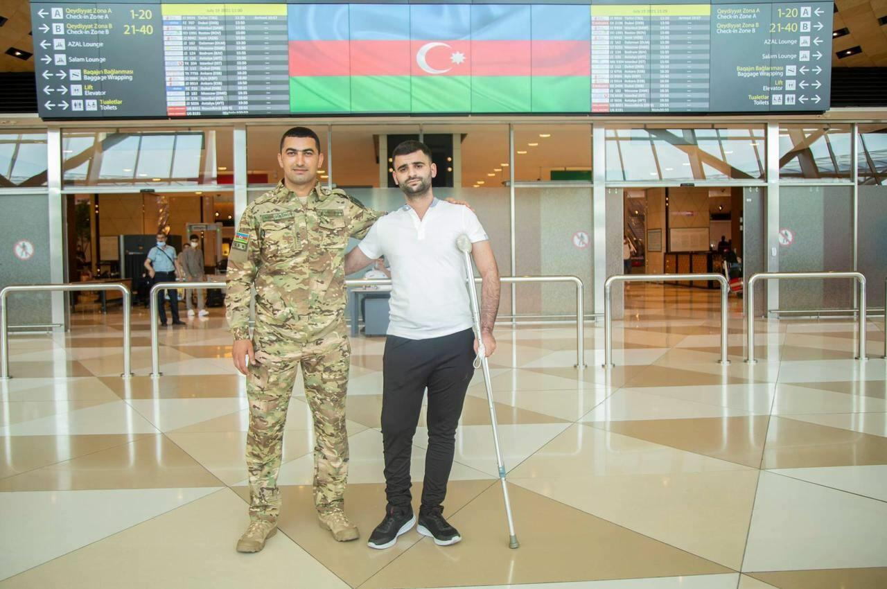 Из Турции на родину после лечения вернулись еще 6 участников войны
