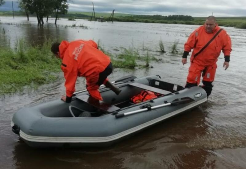 Почти 400 домов подтопило в двух районах Забайкалья