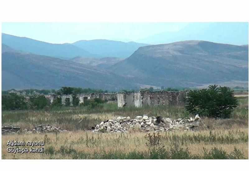 Освобожденное село Гектепе Агдамского района