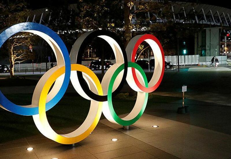 Команда Азербайджана прошла на параде спортсменов в рамках открытия Олимпиады в Токио