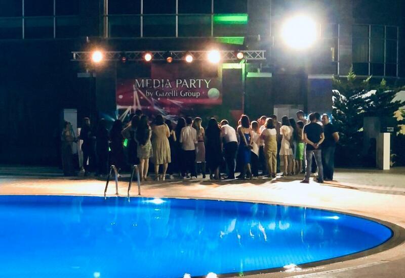 Для представителей СМИ было организовано мероприятие MEDIA PARTY by Gazelli Group