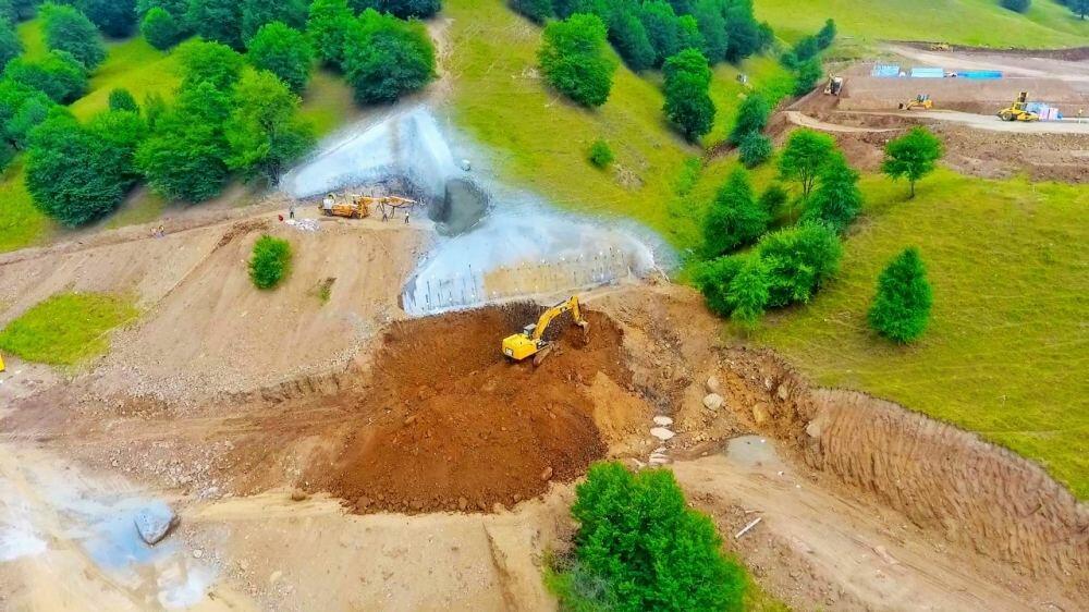 Начато строительство автодороги Тоганалы-Кяльбаджар-Истису