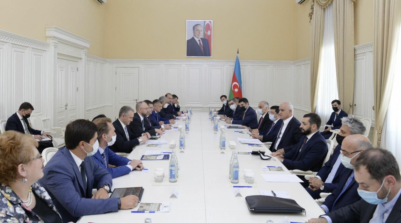 """Коридор """"Север-Юг"""" в приоритете развития торговых отношений между Азербайджаном и Россией"""