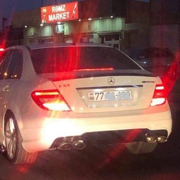 Новые автомобильные номера в Баку