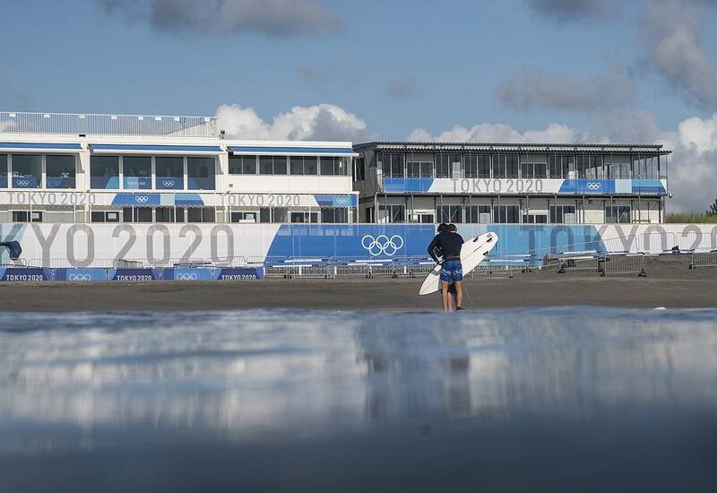 Токио: дебют сёрфинга и скейтинга