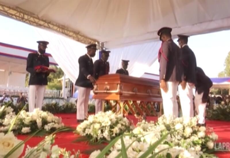 Похороны президента Гаити прошли на фоне акций протеста
