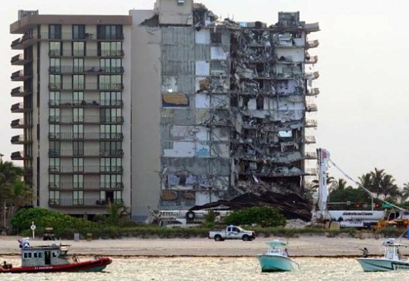 В Майами завершили поисковую операцию на месте обрушившегося дома