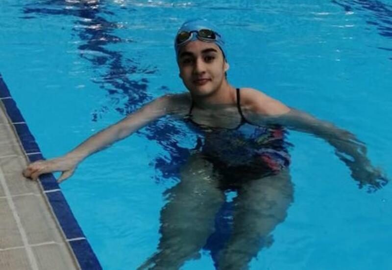 Токио-2020: азербайджанская пловчиха стала первой в своей группе