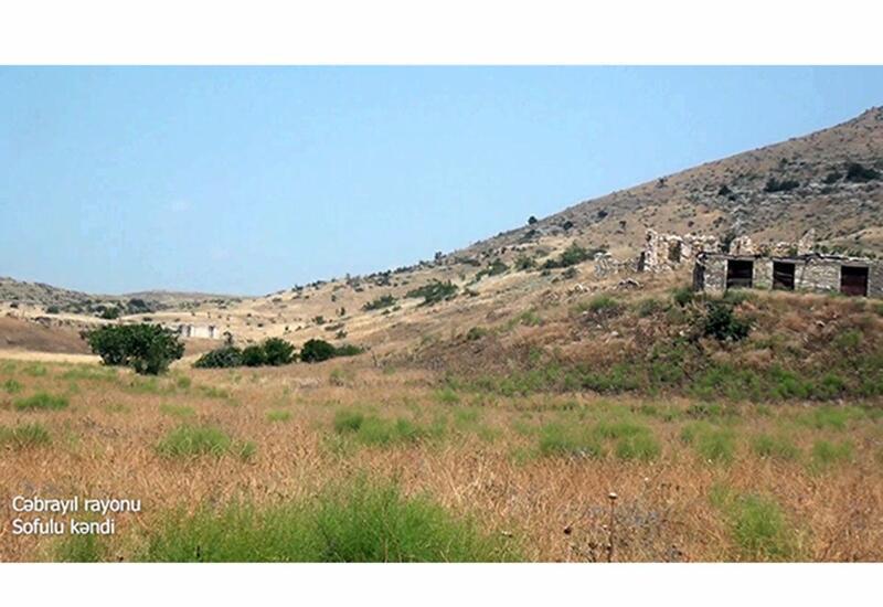 Село Софулу Джебраильского района, полностью разрушенное армянами