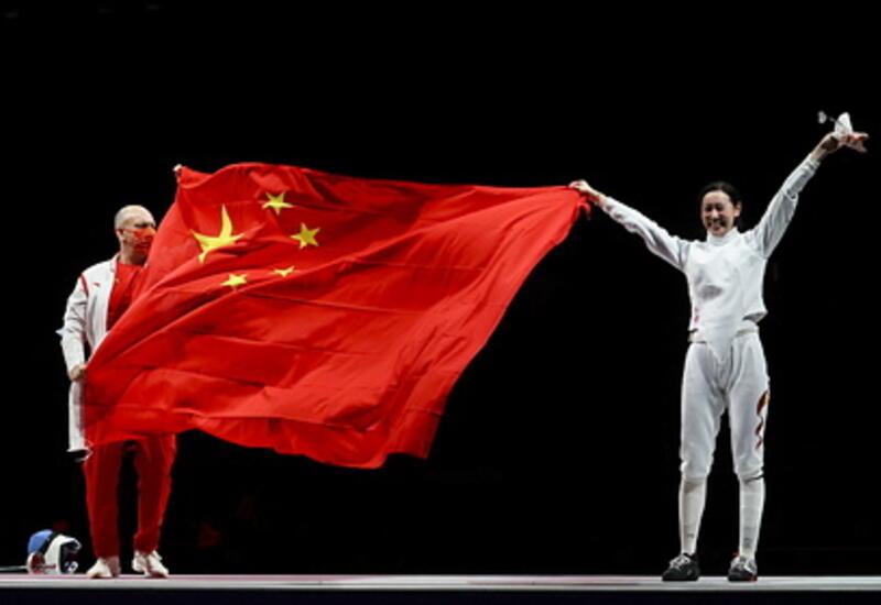 Китай возглавил медальный зачет после первого дня Олимпиады