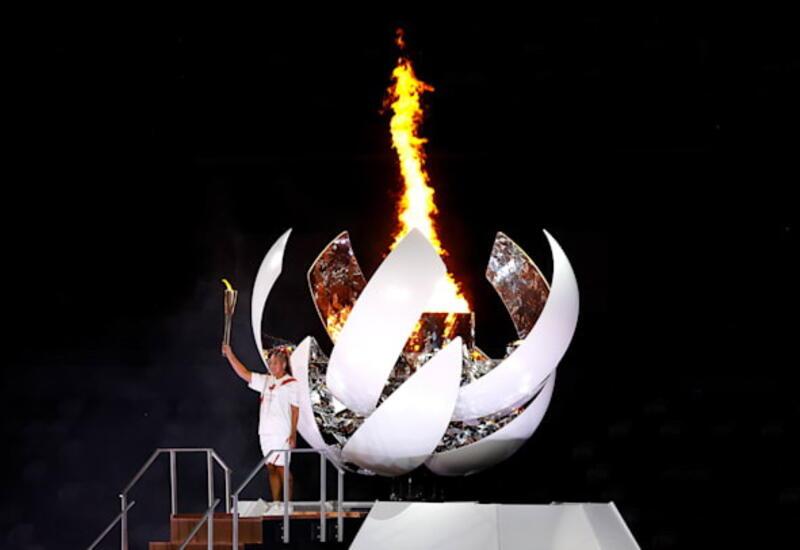 Олимпийский огонь зажжён