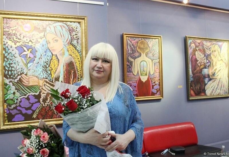 Азербайджанская художница из Франции проведет мастер-классы для бакинцев