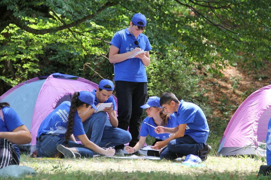 В Азербайджане завершился летний эколагерь, организованный Общественным объединением IDEA