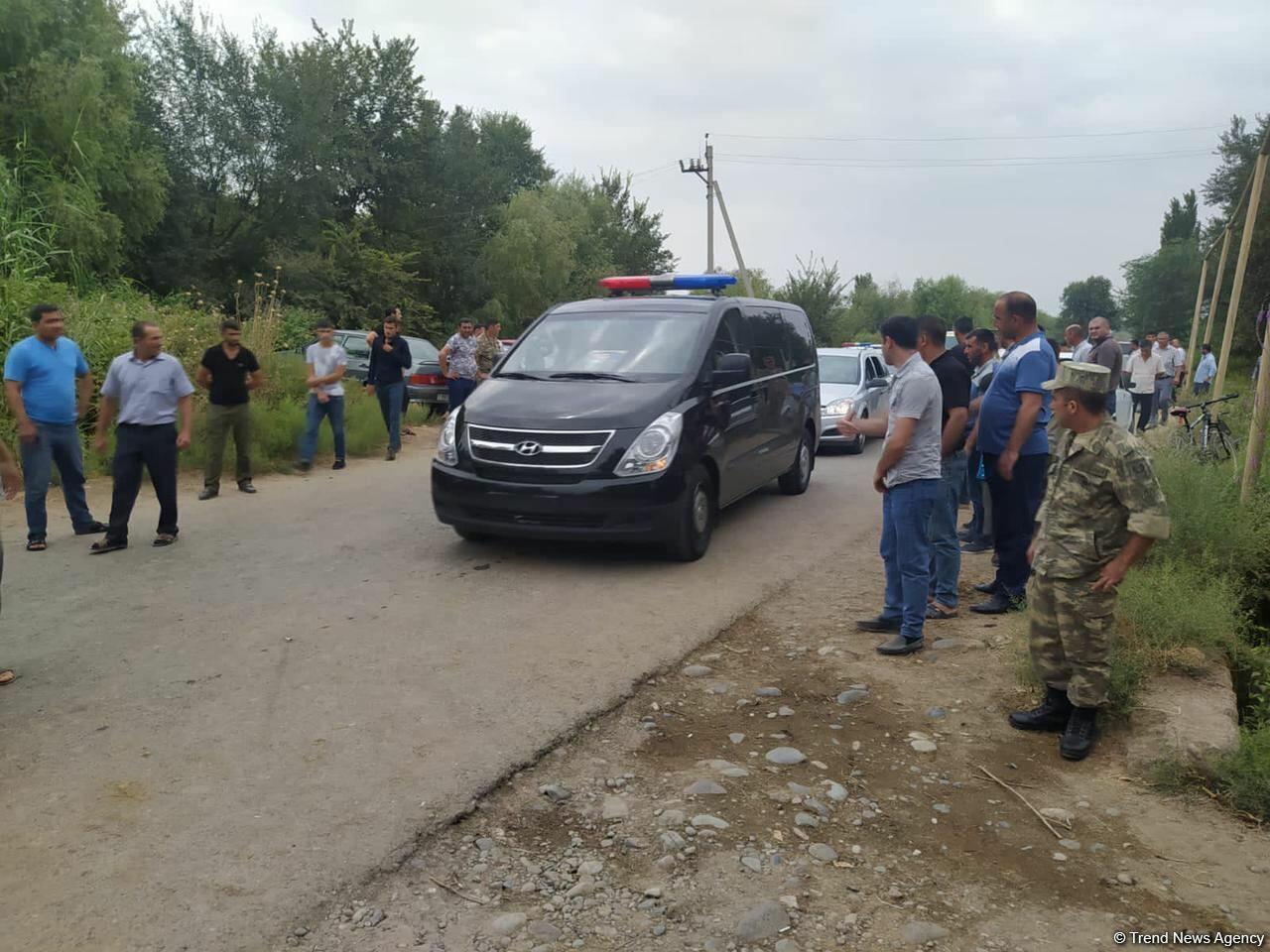 В Бейлагане простились с азербайджанским военнослужащим, погибшим в результате армянского обстрела