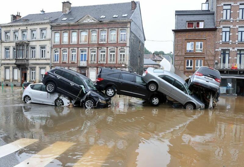 На юге Бельгии началось новое наводнение