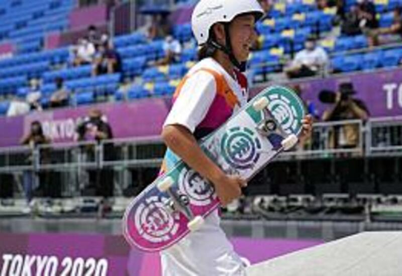 Тринадцатилетняя японка стала олимпийской чемпионкой по скейтбордингу