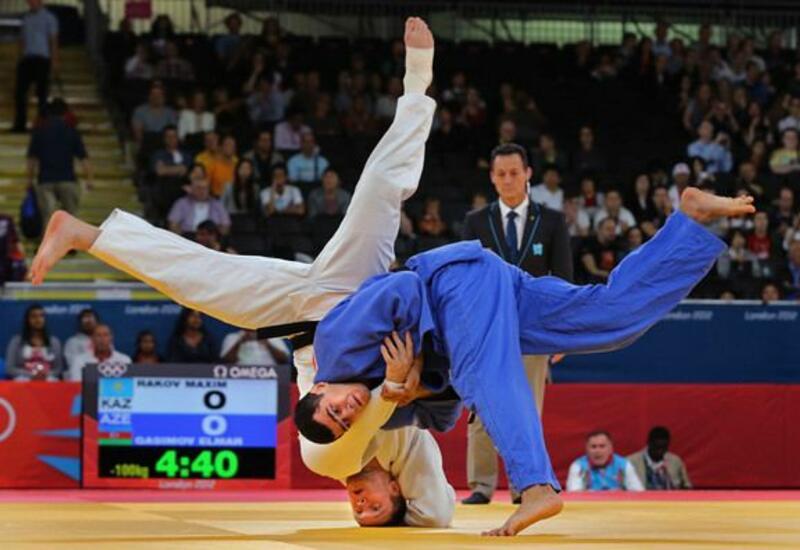 Cüdoçumuz Rüstəm Orucov 1/4 finala yüksəldi - Tokio-2020