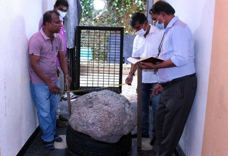 На Шри-Ланке нашли драгоценный камень весом 510 кг