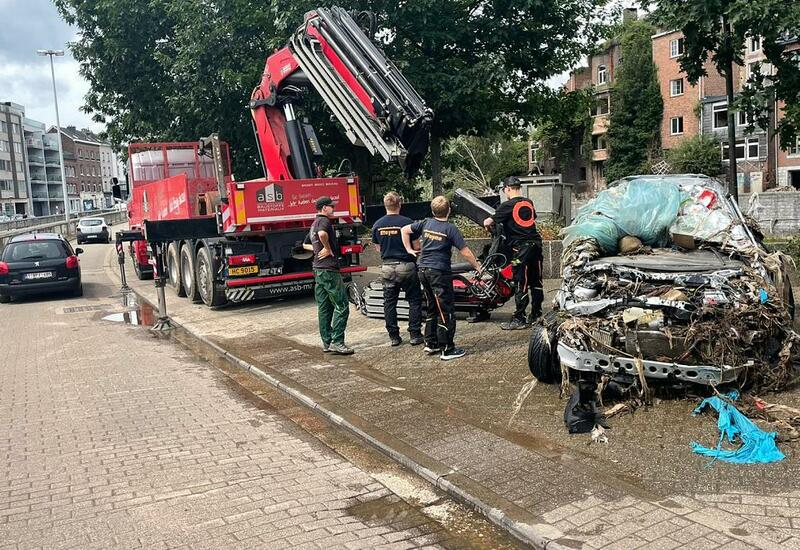 Как в Бельгии ликвидируют последствия наводнений