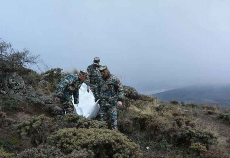 В Физули найдены останки еще двух армянских военнослужащих
