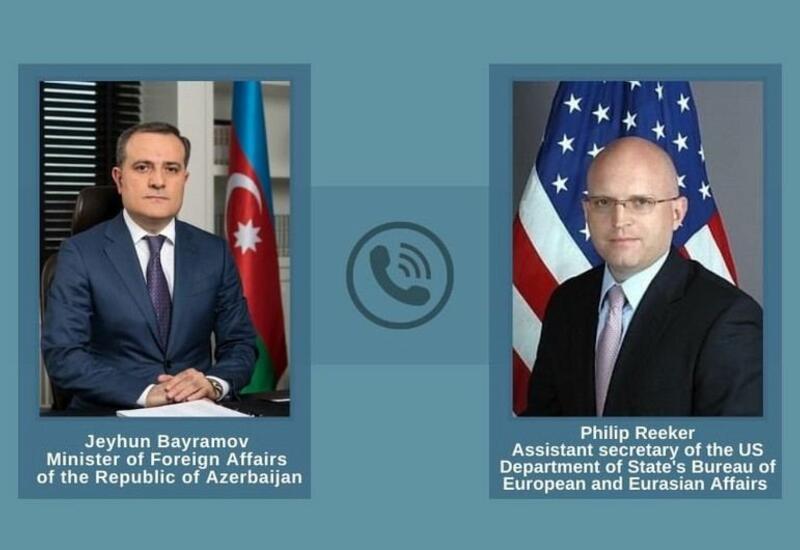 Джейхун Байрамов и помощник госсекретаря США провели телефонный разговор