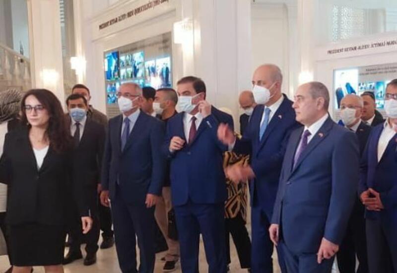 Правящие партии Азербайджана и Турции проводят конференцию в Гяндже