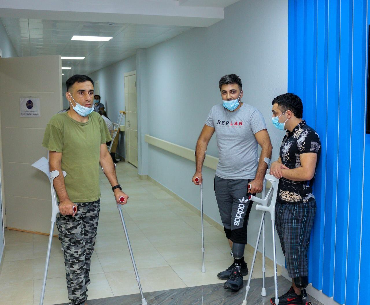 Еще ряд ветеранов Отечественной войны Азербайджана обеспечен высокотехнологичными протезами