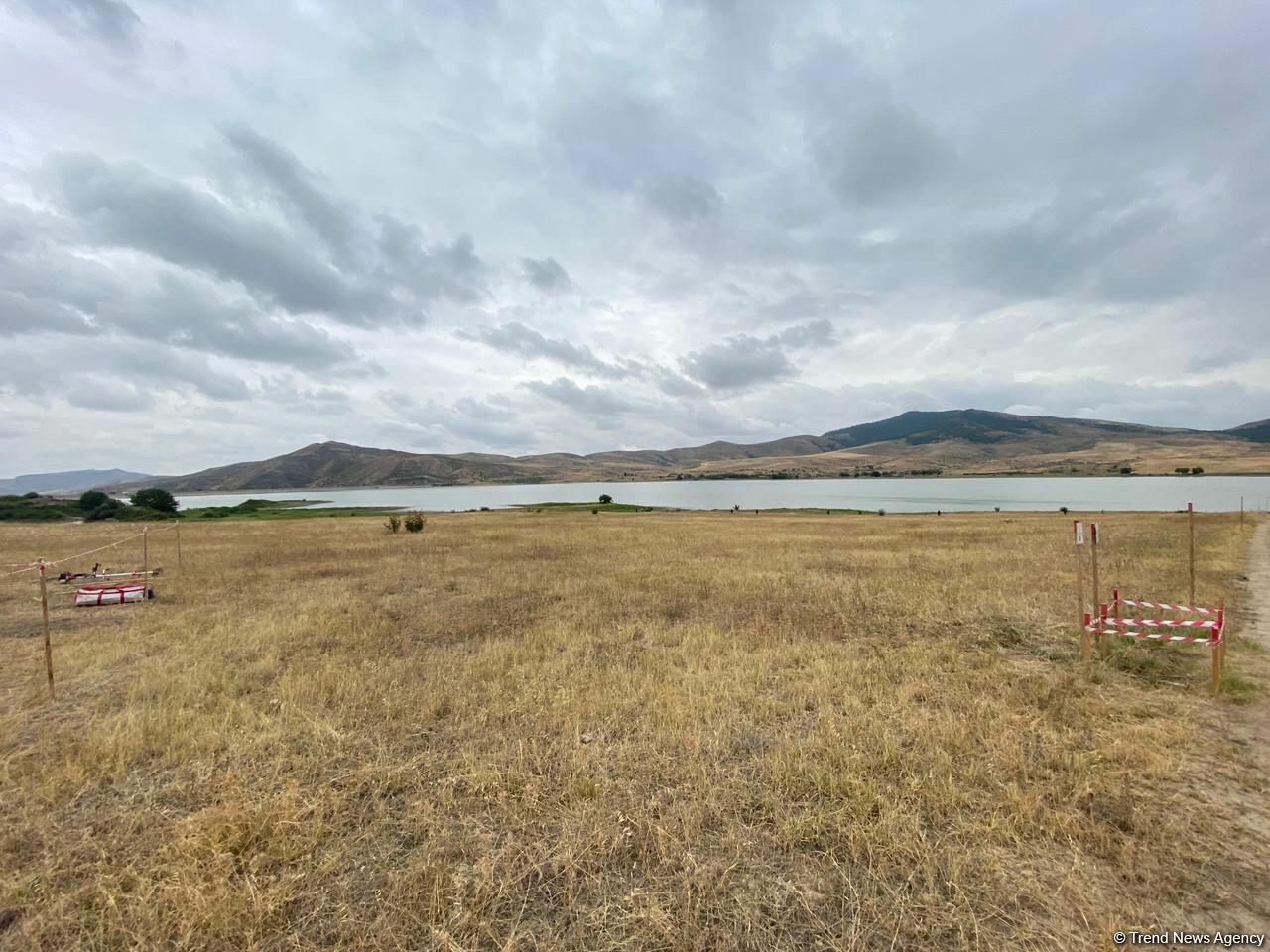 Окрестности Хачынчайского водохранилища очищаются от мин